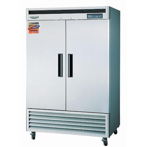 """Turbo Air - Maximum 54"""" 2 Door Reach-In Freezer front-610691"""