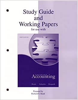Accompany accounting intermediate papers working