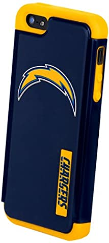 Forever Collectibles San Diego Chargers Rugged Dual Hybrid Apple iPhone 5 & 5S Case
