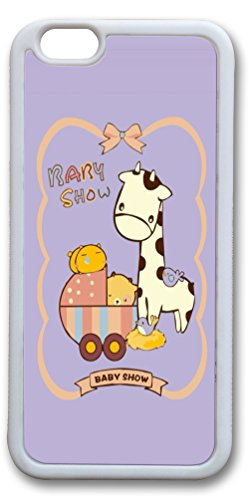 Iphone 6 Plus Cases (5.5 Inch) - New Cool Best Rubber Bumper White Covers Baby Show