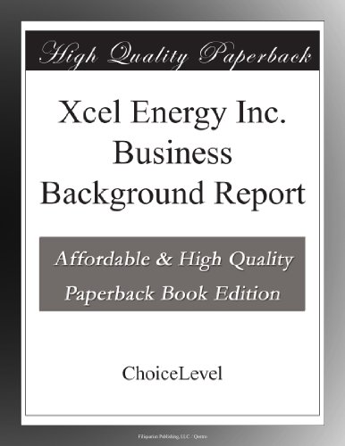 xcel-energy-inc-business-background-report