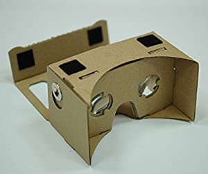 I AM CARDBOARD® 45mm Focal Length Virtual Reality Google Cardboard with Printed Instructions and Easy to Follow Numbered Tabs (WITHOUT NFC) (Box Color)