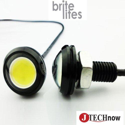 Jtech 9W Eagle Eye White Back Up Reverse Tail, Daytime Running Light Bulb