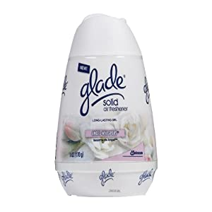 Glade Solid Air Freshener, Angel Whispers, 6-Ounce (Pack of 6)
