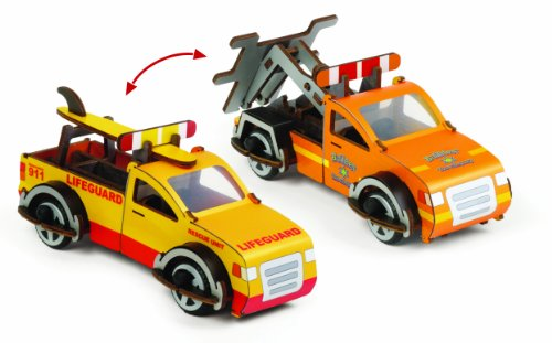 Kids Preferred Buildex Tow Master and Beach Patrol - 1