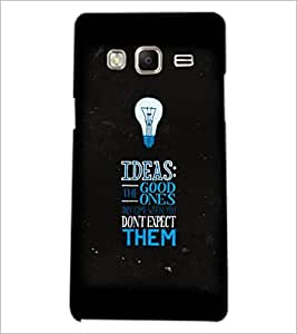 PrintDhaba Quote D-3817 Back Case Cover for SAMSUNG Z3 (Multi-Coloured)