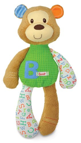 "Smarty Kids: ""B"" Is For Bear Plush By Kids Preferred front-344519"