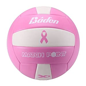 Click here to buy Baden MatchPoint Official Cushioned Volleyball by Baden.