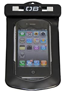 Overboard Small Phone/iPhone Waterproof Tech Case - Black