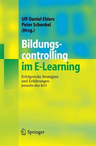 Bildungscontrolling Im E-Learning: Erfolgreiche Strategien Und Erfahrungen Jenseits Des Roi (German Edition) front-738418