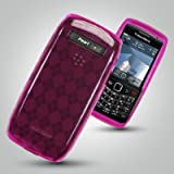 Brand New Hot Pink Gel Skin Case Shell for the Blackberry 9100/9105 Pearl 3G Mobile Phone by Gadgetmonkey Accessories