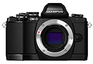 Olympus OM-D E-M10 Mirrorless Digital Camera (Black)- Body only