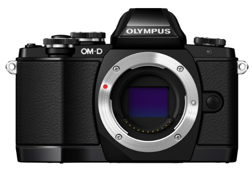 Olympus OM-D E-M10 Mirrorless Camera, Body Only (Black)