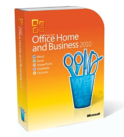 Microsoft Office Home & Business 2010 - 2PC/1User (Disc Version)