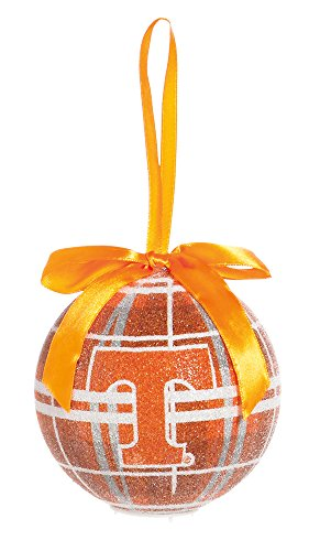 100Mm Led Ball Ornament, University Of Tennessee