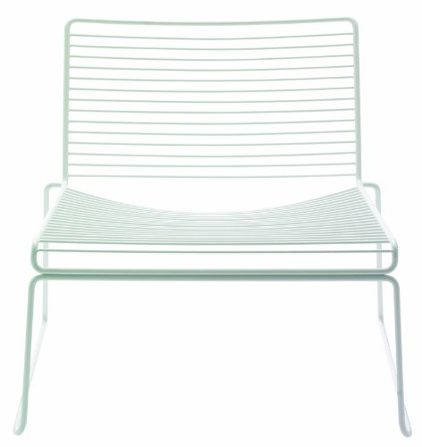 HAY Hee Lounge Chair - white Hee Welling, Stahl pulverbeschichtet