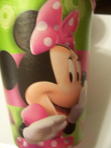 Disney Minnie Mouse Bow-tique 16 oz Plastic Cup by Hallmark - 1