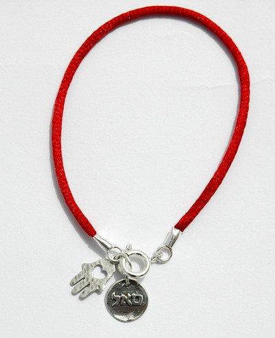 Handmade Hamsa Red String Kabbalah Bracelet for Success