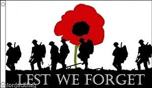 WW1 Lest We Forget Flag World War One Centenary