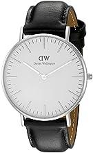 Comprar Daniel Wellington - Reloj analógico para mujer, correa de cuero, color negro
