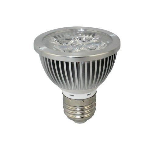 Hqtek Orginal Epistar 1 Pack E27 Led Spotlight 85V To 265V (110V,220V) 4W (330 Lumen -50Watt Equivalent) 2700-3000K Warm White 30 Degree Beam Angle