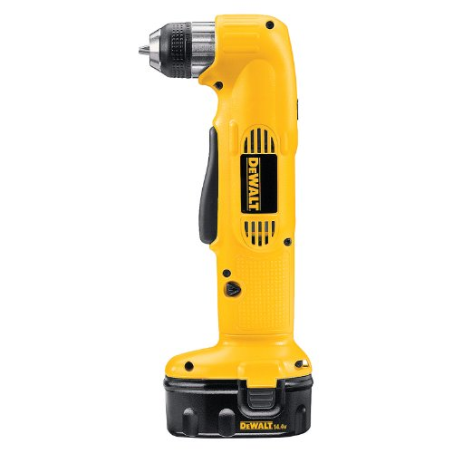 DEWALT DW966K-2 14.4-Volt NiCd 3/8-Inch Cordless Right Angle Drill/Driver Kit