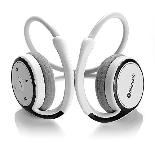 Dylan Marathon2 Bluetoothイヤホン ワイヤレスヘッドセット Bluetoothイヤフォン CVCノイズキャンセル搭載 iPhone/iPad/ iPod/Android Phone/Windows Phone対応(ホワイト)