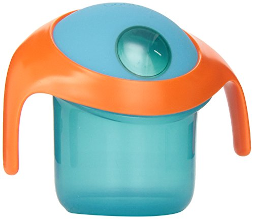 Boon Nosh Snack Container, Blue/Orange - 1