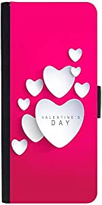 Snoogg Be My Valentine Designer Protective Phone Flip Case Cover For Intex Eco 102E