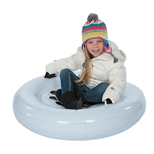 Winter Toys 10 And Up : Kids inflatable snowman sled blow up snow tube winter toys