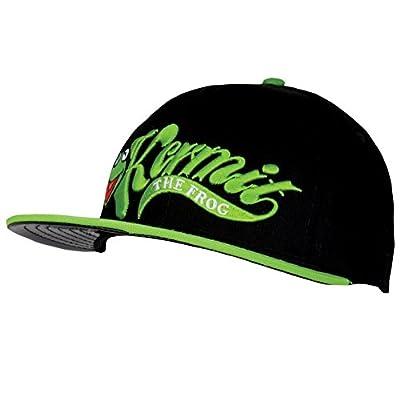 Muppets - Kermit Swoosh Logo Snapback Cap Black