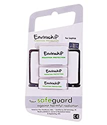 Envirochip - Radiation Protection Chip for Laptop (White Colour)