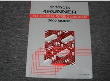 2000 Toyota 4Runner Electrical Wiring Service Manual (2000 4runner Service Manual compare prices)