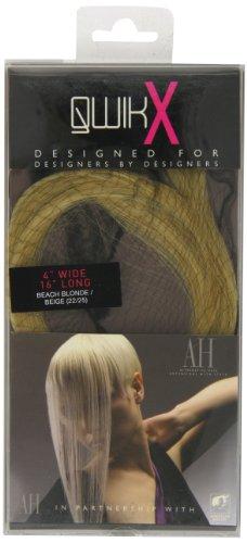 Qwik Percent X 100-Remi Indian Human Hair Extension per capelli, colore 22/25 cm, colore: biondo/da spiaggia, 41 cm, colore: biondo chiaro