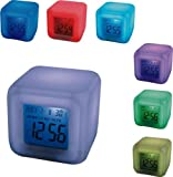 Aurora 30 Second Glow Colour Changing Alarm Clock (225548911)