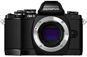 """Olympus OM-D E-M10 Appareil photo hybride 16,1 Mpix Écran LCD 3"""" Boîtier nu Noir"""