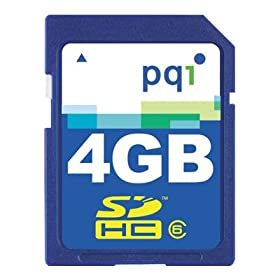 4Gb PQI Memory Card for PENTAX K110D SLR Digital Camera PLUS FREE USB 2.0 SDHC CARD READER/WRITER