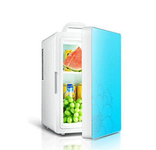 BL Car Réfrigérateur 16 litres Mini Portable Réfrigérateur double plug voiture / Accueil ( couleur : 1 )