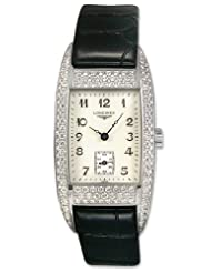Cheap Price Longines BelleArti L25010930 Luxury Pave Diamond Mother-of-Pearl Womens Watch L2.501.0.93.0 USA Sale
