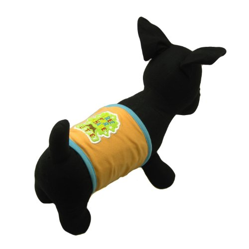 Alfie Pet Accessory - Archi Belly Band - Color: Orange, Size: Large (For Boy Dogs) front-919350