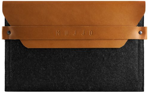 Mujjo MUJJO-SL-019-TN Understated Envelope Sleeve für Apple iPad Mini/Retina hellbraun