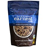 Earnest Eats Vegan Hot Cereal with Superfood Grains, Quinoa, Oats and Amaranth  - Superfood Blueberry Chia Blend - (Case of 6 - 12.6 oz)