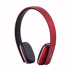 LC8600S Superior Quality Bluetooth Wireless Headphone (Red)