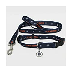 Detroit Tigers Dog Collar & Leash Set by Hunter