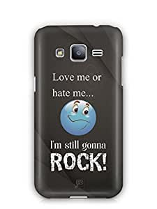YuBingo I am Gonna Rock Mobile Case Back Cover for Samsung Galaxy J2