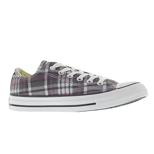 Converse Unisex Shoes Chuck Taylor Ox Plaid Multi Color 149499f Low Top Sneakers (4.5)