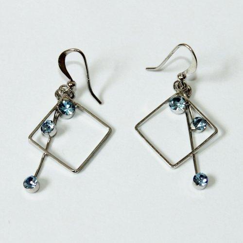 Custom Fashion Jewelry Earrings Blue