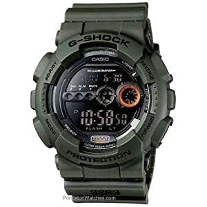 Casio Men's G-Shock Watch GD100MS-3