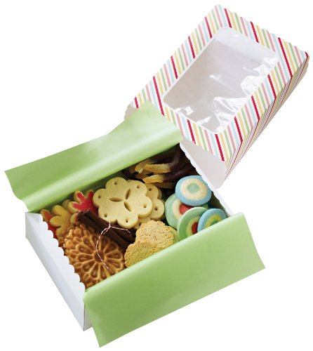 Martha Stewart Crafts Modern Festive Striped Match Box (Custom Treat Boxes compare prices)