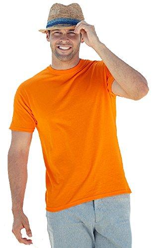 fruit-of-the-loom-heavy-cotton-t-shirt-camiseta-hombre-naranja-xl